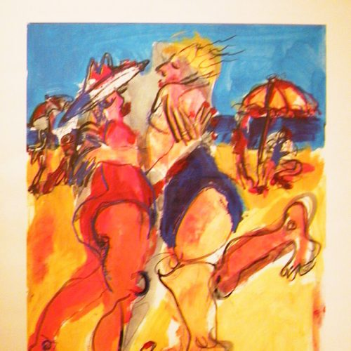 Künstlerin Hetty Van Der Linden