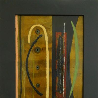 8--WINTERS-PASSAGE---Öl-und-Collage-auf-Stahl--51-x-41---€--300,