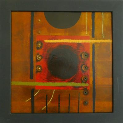 9--TEMPEST-BLOOD--Öl-und-Collage-auf-Stahl--51-x-41---€--300,